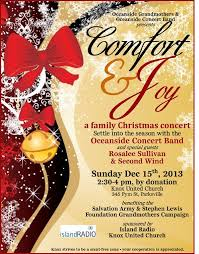 Christmas Concert Poster Comfort And Joy Christmas Concert Church Posters Christmas