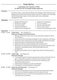 resume for restaurant print hr manager skills resumes hr manager resume format pdf summary
