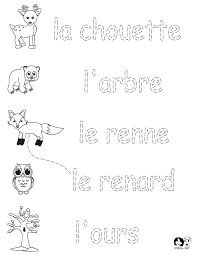 French for Kids - Worksheets