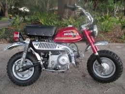 Transport A Mini Bike Small Z 50 A Restored 1975 Honda To West