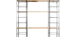 uline shelf large size of tier shelving chrome metal wire rack racks liners reviews