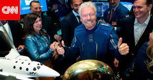 أولًا بأول.. تغطية مباشرة لرحلة الملياردير ريتشارد برانسون إلى الفضاء -  صحافة الجديد