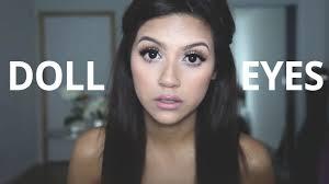 big doll eyes makeup tutorial