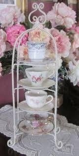 Tea Cup And Saucer Display Stand teacup stand display IRON Tea Cup Saucer Display Stand 100 Tiered 90