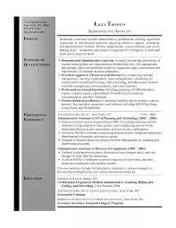 Secretary Resume Examples Legal Assistant Sample Job Description