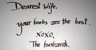 Free Sample Love Letters To Wife Awesome 48 Hilarious Love Notes That Illustrate The Modern Relationship
