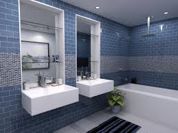 Blue Tiled Bathrooms Photos Hgtv Light Blue Bathroom With Tiled Shower Arafen