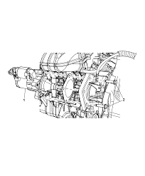 2014 chrysler town country starter related parts thumbnail 1