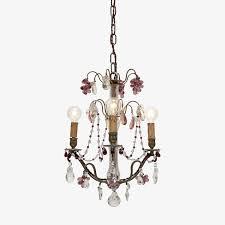 vintage crystal chandelier enlarge image exit full screen