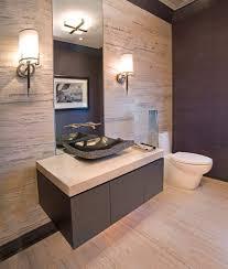 bathroom vessel sink vanity. Vessel Sink Vanity Bathroom Contemporary With Above Beige Countertop. Image By: W Design Interiors