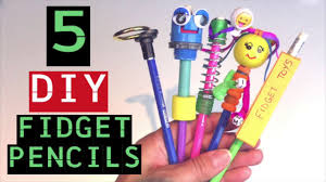 diy fidget toy pencils how to make fidget toys for how to make pencil toppers easy to make