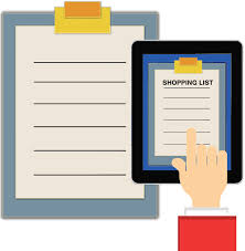 Ramadan shopping list