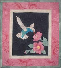 hummingbird quilt | Quilt Craft Distributors - pattern from Joan's ... & hummingbird quilt | Quilt Craft Distributors - pattern from Joan's Own  Creations : 157 . Adamdwight.com