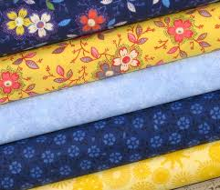 206 best Quilting Kits and Bundles images on Pinterest & Weekly Special 25% Off! Blue and Yellow Cotton Quilt Fabric Bundle for Sale… Adamdwight.com