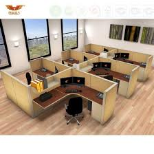 modern office partition. Modern Office Furniture Melamine Board Cubicles Partitions (HY-C1) Partition