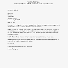Appeal Letter Format Examples How To Write An Appeal Letter