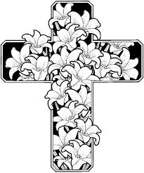 Small Picture Easter Flowers Coloring Pages Printable Free For Kindergarten
