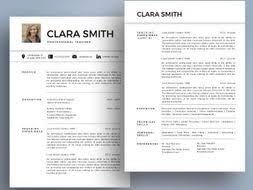 Modern Resume Cover Letters Modern Photo Teacher Resume Cover Letter Templates For Ms Powerpoint