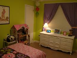 Lime Green Bedroom Curtains Lime Green And Purple Bedroom Designed By Purple Fabric Curtains