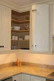 Kitchen Upper Corner Cabinet Access To Upper Corner Cabinet Kitchen Remodel Pinterest
