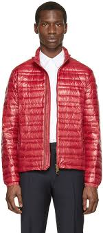 burberry brit red lightweight quilted down jacket