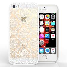 damask office accessories. Damask Office Accessories. YouSave Accessories IPhone 5 And SE TPU Hard Case - White I