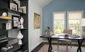 Home Home Office Paint Color Schemes Contemporary Inside Home Office