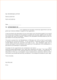 Awesome Collection of Sample Cover Letter References About Cover
