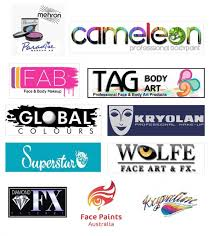 best face paint brands at the moment include tag wolfe fx diamond fx partyxplosion cameleon kryolan global colours face paints australia