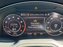 Audi Malfunction Light Drive System Malfunction Audiworld Forums