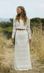 outdoor wedding dress hudson by daughters of simone