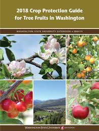 Washington State Seasonal Fruit Chart Crop Protection Guide Wsu Tree Fruit Washington State