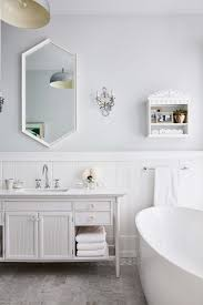 bathtub lighting. Sarah Richardson\u0027s New Modern Farmhouse {Part 3} Petite Wall Shelf Mirror Vanity Bathtub Lighting Ceiling M
