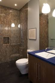 tile walk in showers without doors. Perfect Doors Colorful Mosaic Tile WalkIn Shower Shower Without Door To Walk In Showers Without Doors S