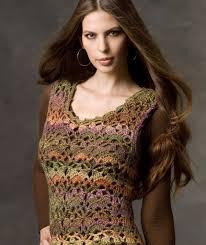 Free Crochet Vest Patterns Beauteous Painted Wool Vest Red Heart
