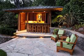 outdoor tiki bar plans free