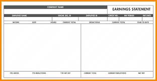 Sample Check Stub Sample Pay Stub For Employee Caption Contract Template 6 Check Omgoods