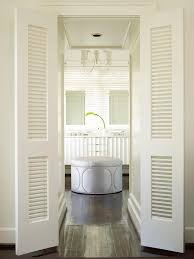 shutter bi fold bathroom doors