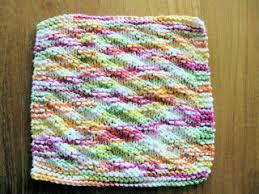 Easy Knit Dishcloth Pattern Beauteous Ravelry Sue's Easy Knit Dishcloth Pattern By Sue Norrad