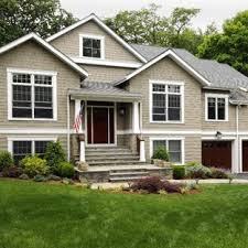 Image Two Story Conversion Inspiration For Craftsman Exterior Home Remodel In New York Save Photo Craftsman Raised Ranch Renovation My Red Raised Ranch extreme Makeover Raised Ranch Houzz