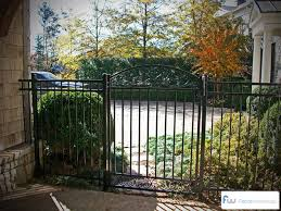 decorative garden gates. Garden Gates | Atlanta, GA Decorative Metal Walk Gate Installation R
