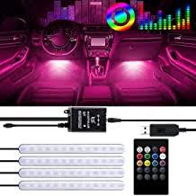 PEMOTech <b>Car</b> Interior <b>Lights</b> Waterproof with 4pcs 48 <b>LED</b>,USB ...
