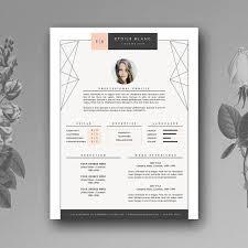 Template Resumecv Resume Templates Creative Market Web Design