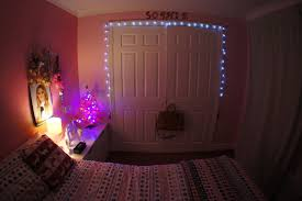 Bedroom Compact Fairy Lights Tumblr Painted Wood Wall Also Pink Large  Pillows Lamps Gray International Caravan