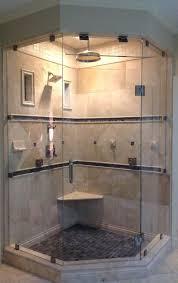 custom frameless glass shower enclosures