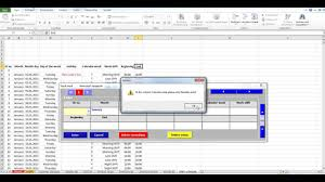 Shift Assignment Create Databases In Excel From A Flexible Input Mask With Assignment