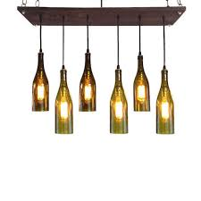 awesome wine bottle light fixture collection in chandelier 36 best image about on the battery