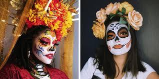 sugar skull makeup tutorials