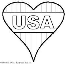 Small Picture USA Flag in heart shape Crafts Pinterest Usa flag Heart
