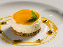 <b>Passionfruit</b> and White Chocolate Cheesecake